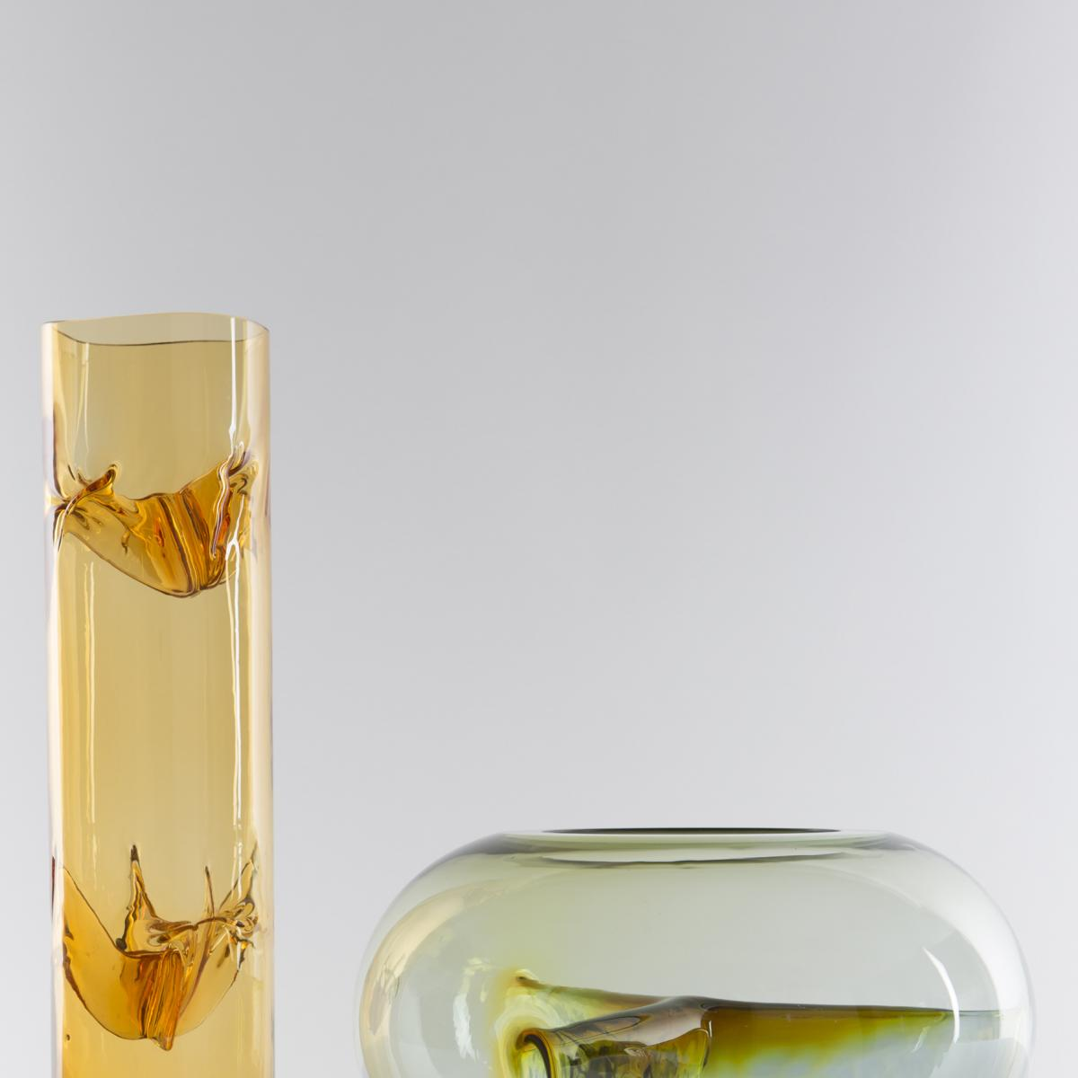 Murano Glass Quot Membrane Quot Vase By Toni Zuccheri For Veart