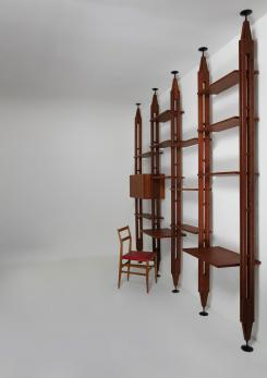 "Compasso - ""Lb7"" Bookcase by Franco Albini for Poggi"