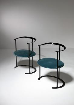 "Compasso - Pair of ""Catilina"" Armchairs by Caccia Dominioni for Azucena"