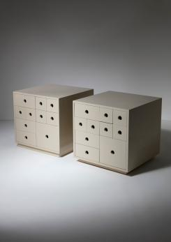 "Compasso - Pair of ""Indro"" Storage Unit by Paolo Tommasi for Delta"