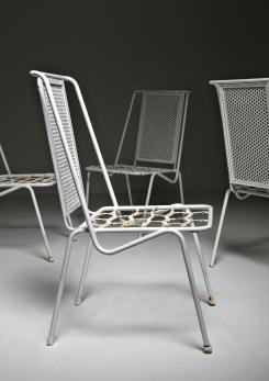 Compasso - Set of 4 Italian 50s Patio Chairs