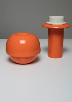 Compasso - Set of Two Ceramic Vases by SIC Italy