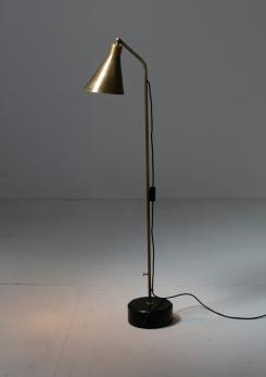 Compasso - Brass Floor Lamp LTE3 by Ignazio Gardella for Azucena