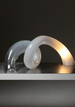 Compasso - Large Murano Glass Table Lamp by Alfredo Barbini