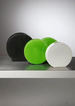 Compasso - Set of Three Ceramic Vases by Ambrogio Pozzi for Ceramiche Pozzi