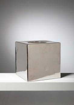 Compasso - Cubic Vase Model 585 by Ettore Sottsass for Il Sestante
