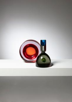 Compasso - Pair of Cenedese Glass Pieces
