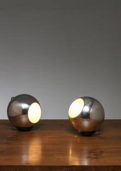 Compasso - Pair of Table Lamps Model 586 by Gino Sarfatti for Arteluce