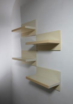Compasso - Set of Four Kartell Wall Shelves