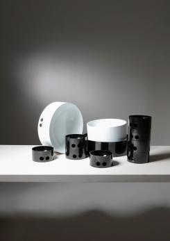 "Compasso - Large Set of ""Tongareva"" Bowls by Enzo Mari for Danese"