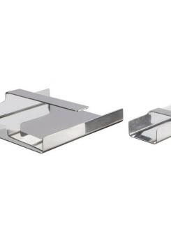 Compasso - Set of Two Steel Desk Pieces by Mazza Gramigna for Krupp