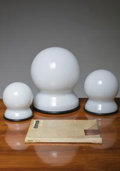 "Compasso - Set of Three  ""Scafandro"" Table Lamps by Sergio Asti for Candle"