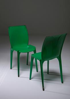 "Compasso - Set of Two ""Lambda"" Chairs by Richard Sapper and Marco Zanuso for Gavina"