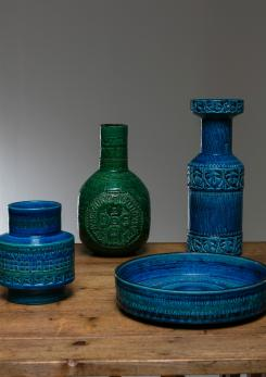Compasso - Set of Four Ceramic Vases by Bitossi