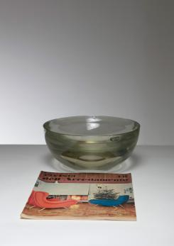 Compasso - Large Murano Glass Bowl by Seguso