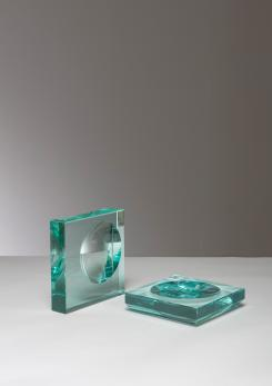 Compasso - Pair of Fontana Arte Trays