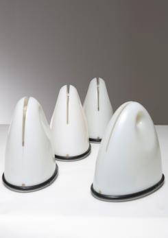 "Compasso - Set of Four ""Ilaea"" Table Lamps by Bruno Gecchelin for Guzzini"