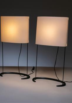 "Compasso - Pair of ""Gala"" Table Lamps by Paolo Rizzatto for Arteluce"