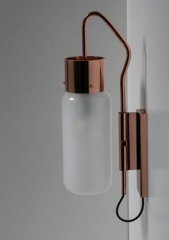 "Compasso - Rare ""Bidone"" Wall Lamp by Luigi Caccia Dominioni for Azucena"