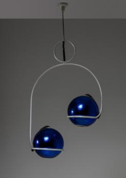 Compasso - Remarkable Italian 70s Chandelier