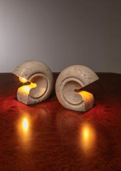 Compasso - Set of Two Table Lamps by Giuliano Cesari for Sormani