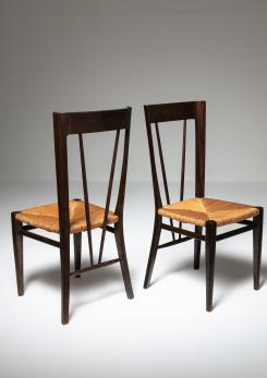 Compasso - Pair of Chairs by Guglielmo Pecorini for Casa e Giardino
