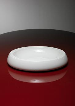 Compasso - Large Ceramic Bowl by Franco Bucci for Laboratorio Pesaro