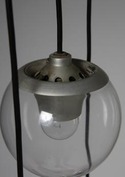 Compasso - Ceiling Lamp Mod. 2095/6 by Sarfatti for Arteluce