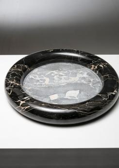 Compasso - Rare Marble Centerpiece by Di Rosa and Giusti for Up&Up