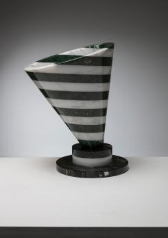 "Compasso - ""Piotr"" Marble Vase by Martin Bedin for Up&Up"