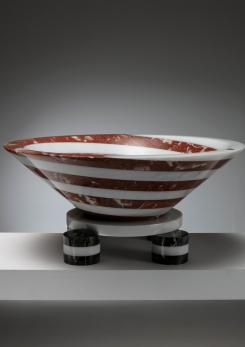 "Compasso - ""Portafrutta"" Marble Bowl by Martin Bedin for Up&Up"