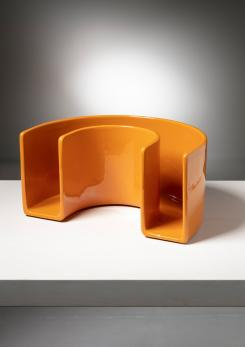 Compasso - Ceramic Magazine Rack by Sicart