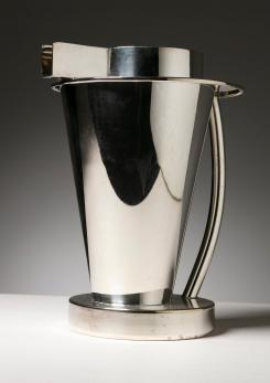 Compasso - Silverplated Pitcher by Ettore Sottsass for Design Gallery
