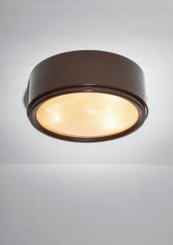 Compasso - Large Ceiling Lamp Model 3055 by Gino Sarfatti for Arteluce