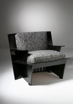 "Compasso - ""Arighi"" Armchair by Umberto Riva for Poltronova"