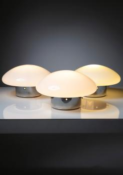 "Compasso - Set of Three ""Micco"" Nightstand Lamps by Mazza and Gramigna for Quattrifolio"