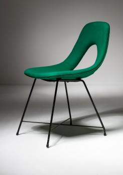 "Compasso - ""Ariston"" Chair by Augusto Bozzi for Saporiti"