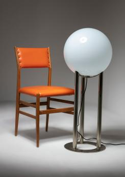 "Compasso - ""Globo"" Floor Lamp by Roberto Menghi for Venini"