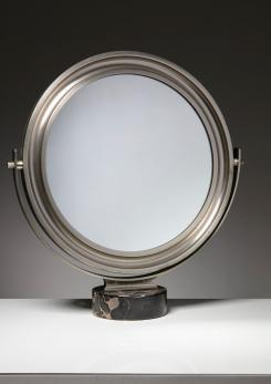 "Compasso - ""Narciso"" Table Mirror by Sergio Mazza for Artemide"