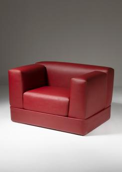 "Compasso - ""Container"" Armchair by Ammannati and Vitelli for Rossi di Albizzate"
