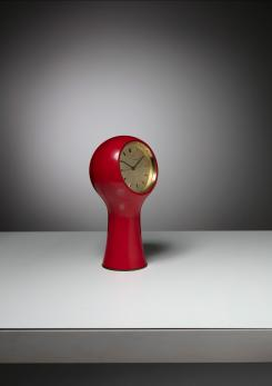 "Compasso - ""Secticon"" Table Clock by Mangiarotti and Morassutti for The Universal Escapement"