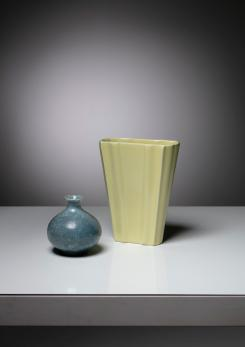 Compasso - Set of Two Ceramic Vases by Guido Andloviz for SCI Laveno