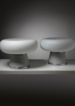 Compasso - Rare Pair of Table Lamps by Fontana Arte