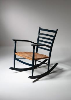 Compasso - Rocking Chair by Emanuele Rambaldi for Colombo Sanguineti