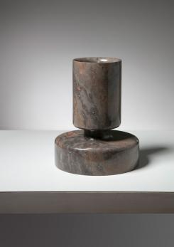 Compasso - Marble Vase by Angelo Mangiarotti for Knoll
