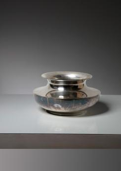 Compasso - Silver Plated Bowl by Christofle