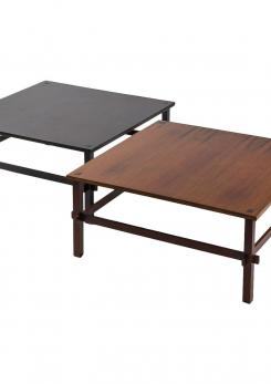 Compasso - Pair of Coffee Tables Model 740 by Gianfranco Frattini for Cassina