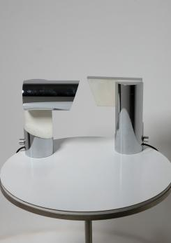 "Compasso - Pair of ""Altalena"" Table Lamps by Angelo Lelii for Arredoluce"