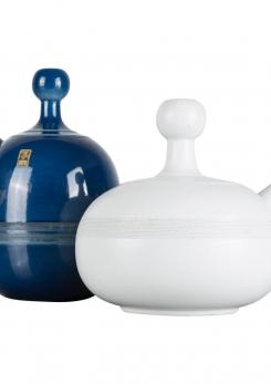 Compasso - Set of Two Carafes by Ambrogio Pozzi
