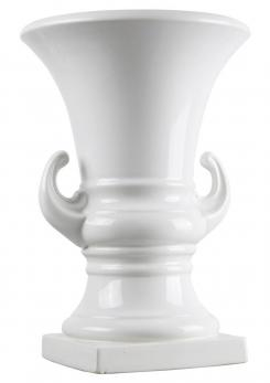 Compasso - Enameled Ceramic Vase by Antonia Campi for S.C.i. Laveno
